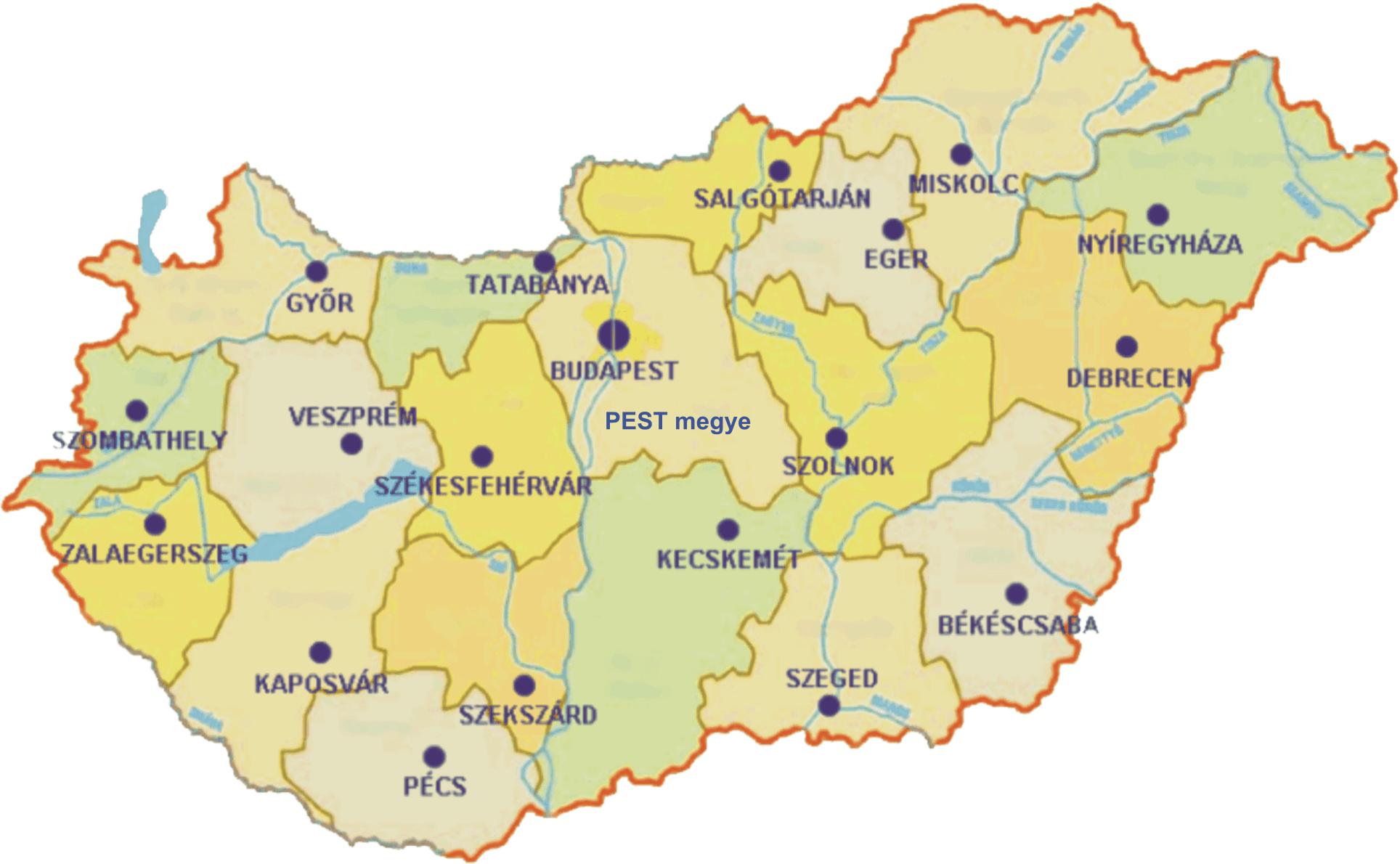 magyarország térkép megyeszékhelyek szilikon (silicone) 41 lehetőség a víz okozta károk legyőzésére magyarország térkép megyeszékhelyek